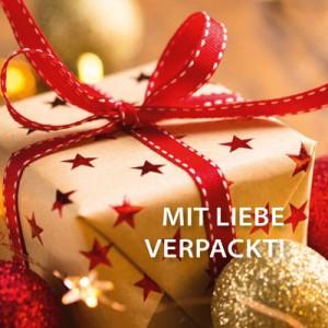 Weihnachtlicher Einpackservice
