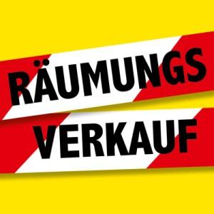 Räumungsverkauf  in Bad Essen