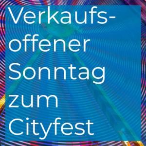 Verkaufsoffener Sonntag zum Cityfest in Espelkamp
